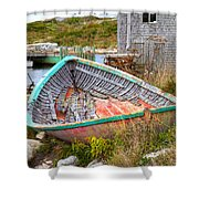 Peggy's Cove 11 Shower Curtain