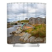 Peggy's Cove 12 Shower Curtain
