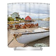 Peggy's Cove 4 Shower Curtain