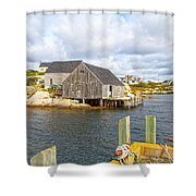 Peggy's Cove 6 Shower Curtain