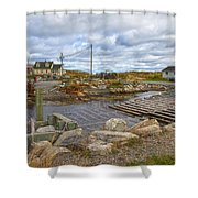 Peggy's Cove 8 Shower Curtain