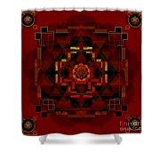 Pele Goddess Of Fire 2013 Shower Curtain
