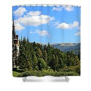 Peles Castle Shower Curtain