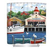 Pelican Bay Shower Curtain