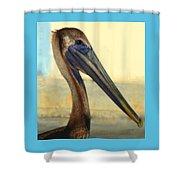 Pelican Bill Shower Curtain