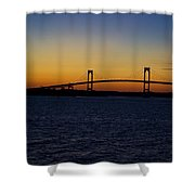 Pell Bridge Shower Curtain