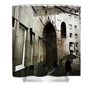 Pelted Streets  Shower Curtain