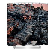Pemaquid In Early Morning Light Shower Curtain