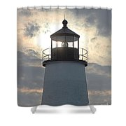Pemaquid Lighthouse - The Tower  Shower Curtain