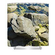 Pembroke Rock Shower Curtain