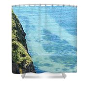 Pembrokeshire Cliffs Shower Curtain