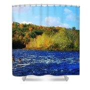 Pemigewassett River Shower Curtain