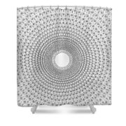 Pen And Ink Mandala 2 Shower Curtain