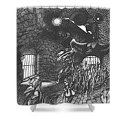 Pen And Ink World 5 Shower Curtain