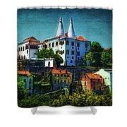 Pena National Palace - Sintra Shower Curtain