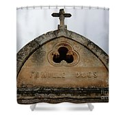Penance Shower Curtain
