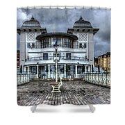 Penarth Pier Pavilion 2 Shower Curtain