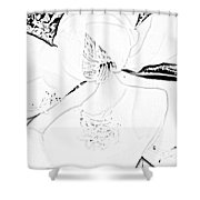 Pencil Me In Shower Curtain