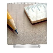 Pencil Shower Curtain