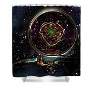 Pendant Shower Curtain