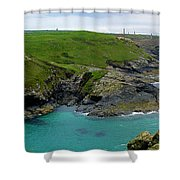 Pendeen Watch To Levant Shower Curtain
