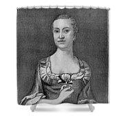 Penelope Barker (1728-1796) Shower Curtain