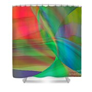 Penetration Shower Curtain by ME Kozdron