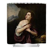 Penitent Magdelene Shower Curtain