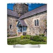 Penmon Priory Shower Curtain