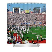 Penn State Rose Bowl Shower Curtain by Benjamin Yeager