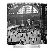 Penn Station Nyc 1957 Shower Curtain