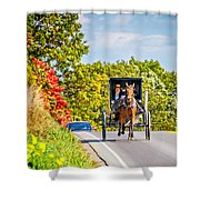 Pennsylvania Amish Shower Curtain