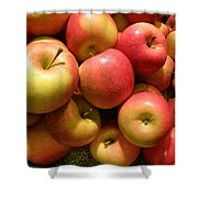 Pennsylvania Apples Shower Curtain