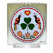 Pennsylvania Dutch Hex 16 Shower Curtain