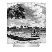 Pennsylvania Farm, 1795 Shower Curtain