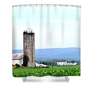 Pennsylvania Farms Shower Curtain