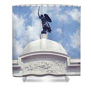 Pennsylvania Monument - Gettysburg Shower Curtain
