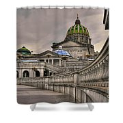 Pennsylvania State Capital Shower Curtain
