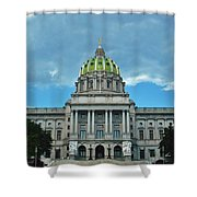 Pennsylvania State Capitol Shower Curtain