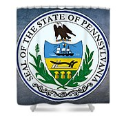 Pennsylvania State Seal Shower Curtain