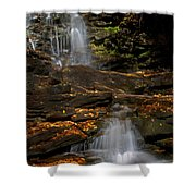 Pennsylvania Waterfalls Shower Curtain