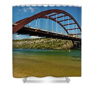 Pennybacker 360 Bridge, Austin, Texas Shower Curtain