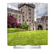 Castle Grounds Shower Curtain