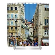 Pensao Geres - Lisbon Shower Curtain