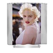 Beauty Of Marilyn Monroe Shower Curtain