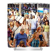 People In New York Shower Curtain