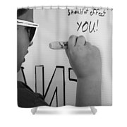 Peoples Opinions Shower Curtain