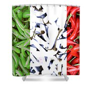 Peperoncino Shower Curtain