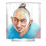 Pepper Shower Curtain