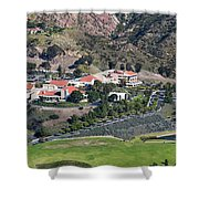 Pepperdine University On A Hill Shower Curtain